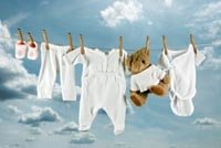 fold, baby clothes